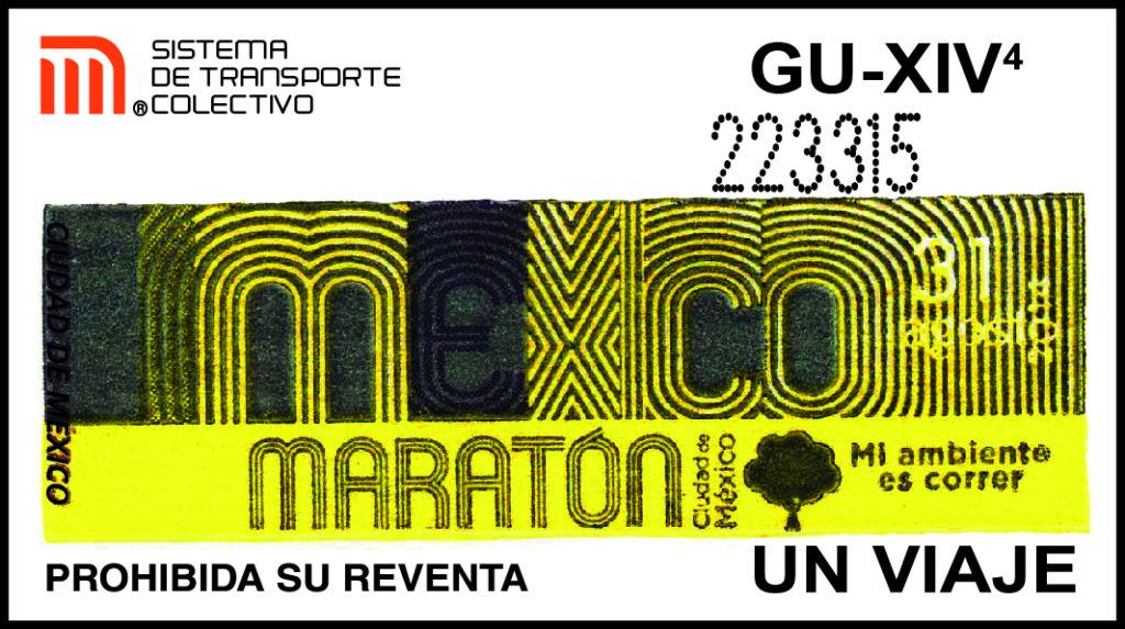 Conmemoración de la XXXII edición del Maratón Internacional de la Ciudad de México.
