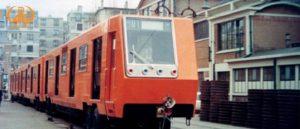 El tren 01 desembarcó en Veracruz procedente de Francia.