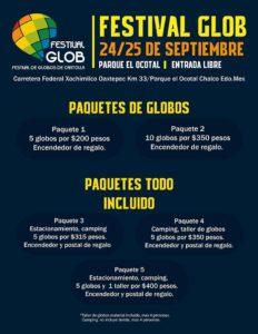 Paquetes (Foto: Facebook Festival Globos)