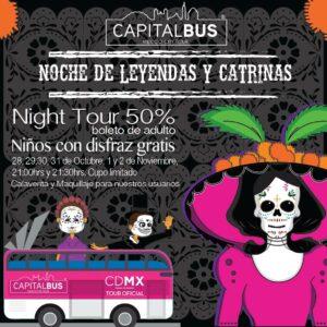 CAPITAL BUS (Foto:@capitalbusmx)