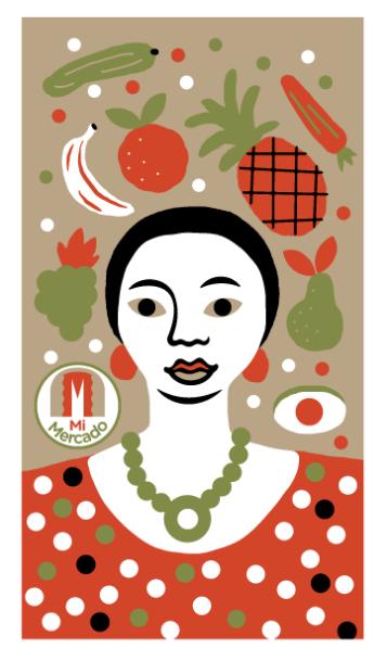 En 2015 se lanzó el boleto 'Mi Mercado', creado por el diseñador argentino Dr. Alderete.