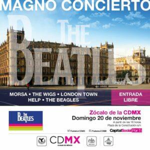 Magno Concierto (Foto: Twitter:@TurismoCDMX)