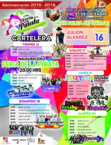 Feria (Foto: Facebook Feria de la Piñata Acolman 2016)